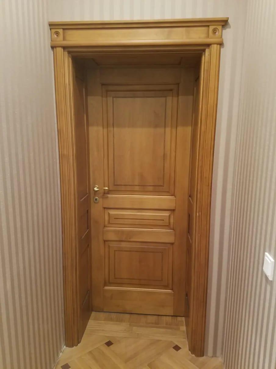 авторские двери из массива дерева