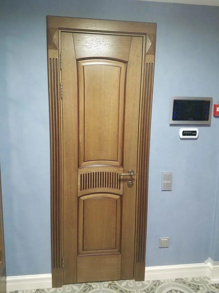 авторские деревянные двери
