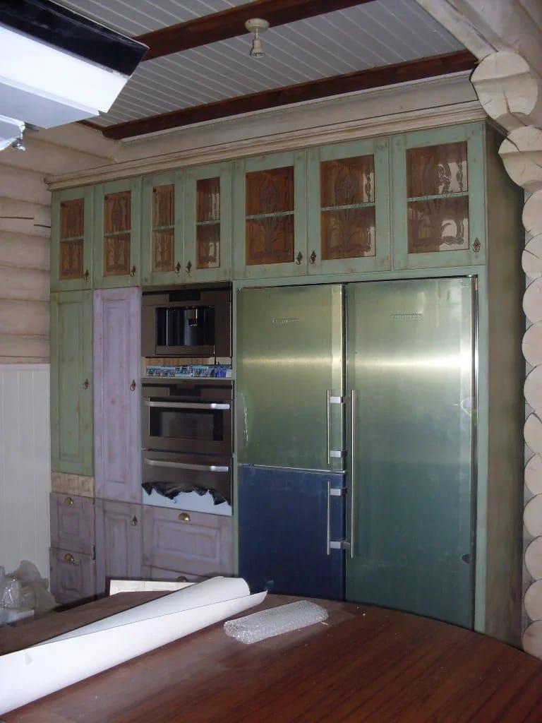 авторская мебель кухни для дачи